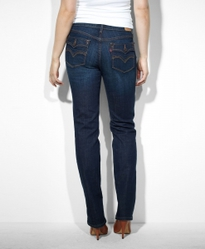 Джинсы Levis Women 505™ Straight Leg | Worn In